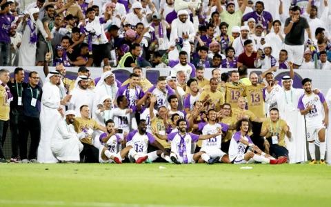 الصورة: «الزعيم» بطل الإمارات للمرة 13 فـي تاريخه