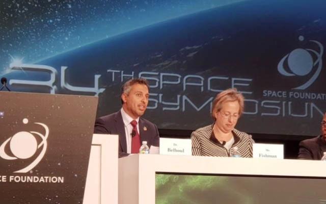 الصورة: أحمد الفلاسي: تركيز الإمارات على أنشطة الفضاء استثمار في المستقبل