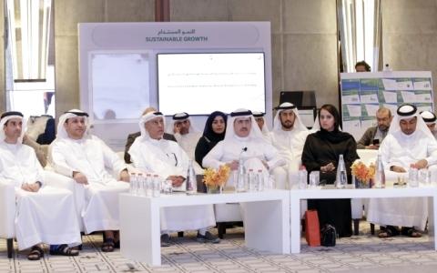 الصورة: «كهرباء دبي» تنظم ورشة عمل لمراجعة خطتها الاستراتيجية 2021