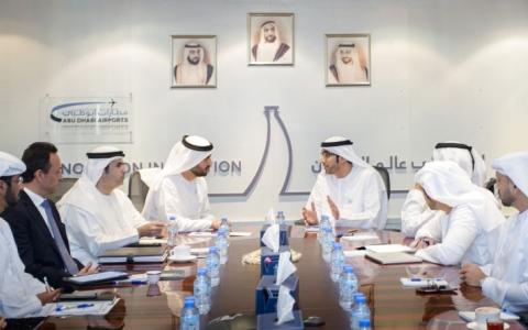 الصورة: الهاملي يبحث مع ممثلي قطاع الطيران استحداث وظائف للمواطنين