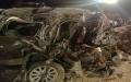 الصورة: مصرع نائب أردني وزوجته وثلاثة من أبنائه في حادث سير