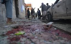 الصورة: ارتفاع قتلى تفجير كابل إلى 31