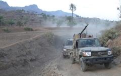 الصورة: بإسناد إماراتي.. تقدم سريع في الساحل الغربي