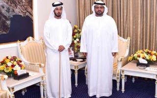 ولي عهد الفجيرة يستقبل نائب رئيس جمعية الإمارات للخيول