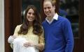 الصورة: كيت زوجة الأمير وليام تضع مولودهما الثالث