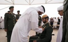 الصورة: محمد بن زايد: أبطال الإمارات يسطـرون مواقف مشرفة في ميادين الحق والواجب