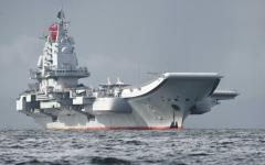 الصورة: حاملة الطائرات تقود تدريبات بالذخيرة الحية في بحر الصين الشرقي