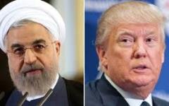 الصورة: روحاني يهدد ترامب: البقاء في الاتفاق النووي أو مواجهة العواقب