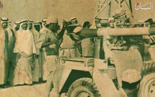 الصورة: الشيخ زايد بن سلطان.. مواقف مشهودة في حرب أكتوبر