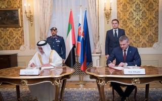 سلوفاكيا تستقبل المصابين من جنود الإمارات البواسل للعلاج
