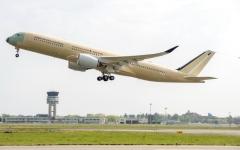 الصورة: إيرباص تكمل رحلة تجريبية لإحدى طائراتها