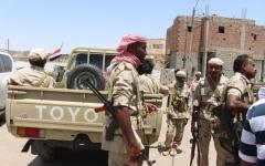 الصورة: التحالف يقصف أهدافاً حوثية في صعدة