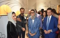 الصورة: نورة الكعبي: الإمارات قوة فاعلة في المشهد الفني والثقافي العالمي