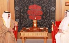 الصورة: ملك البحرين:  علاقاتنا مع الإمارات وثيقة