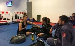 الصورة: رنا قبج: تمكين الفتيات اليتيمات دفعني إلى التدريب