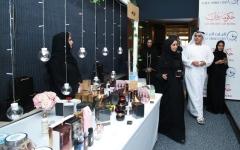 الصورة: نيابة دبي تفتتح «سوق بنات زايد»