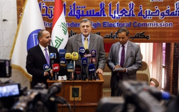 الصورة: عمليّات تطهير في 5 محافظات عراقية لتأمين الانتخابات