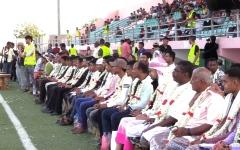 الصورة: عدن تزف 200 شاب وشابة في احتفالات بهيجة