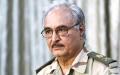 الصورة: حفتر يعود إلى بنغازي ويؤكد عزمه القضاء على الإرهاب