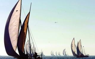 الصورة: «القاموس البحري».. حكايات السفن الشراعية