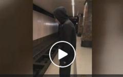 """الصورة: يرمي بنفسه تحت القطار لكسب """"الإعجابات""""!"""