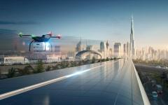 الصورة: شاهد.. دبي تطلق نظام نقل البضائع براً بسرعة الطيران