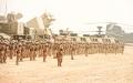 الصورة: خليفة ومحمد بن راشد ومحمد بن زايد والحكام:  قواتنا حصننا المنيع وأقوياء بوحدة بيتنا