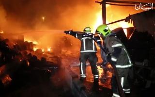 """الصورة: """"الاستجابة في 30 ثانية"""".. أسرع زمن لإغاثة الحرائق في العالم"""