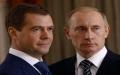 الصورة: بوتين يعرض مجدداً تعيين مدفيديف رئيساً للوزراء