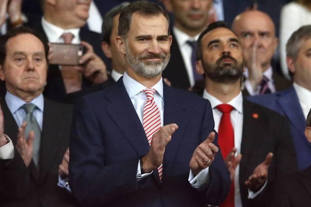 ملك اسبانيا يحضر نهائي دوري أوروبا