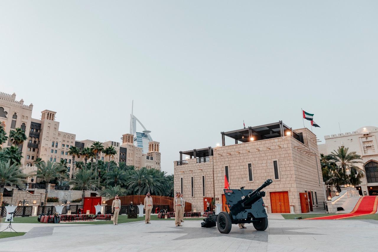 مدافع شرطة دبي الرمضانية جاهزة لاستقبال الشهر الفضيل