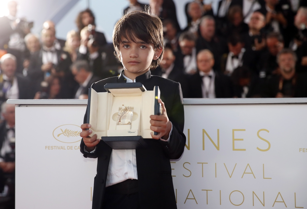 """الفيلم الياباني """"شوب ليفترز"""" يفوز بجائزة السعفة الذهبية في مهرجان كان"""