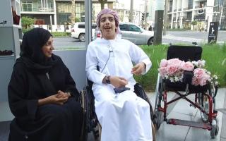 الصورة: الصورة: منى الحداد تعلو بمواهب أصحاب الهمم قمم المجوهرات