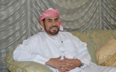 الصورة: محمد الخالدي «بوراكان»..34 عامــاً بالصوت والصورة مع زايد