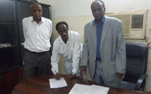الصورة: الطيب يدفع ثمن الإخفاق الإفريقي  مع الهلال السوداني