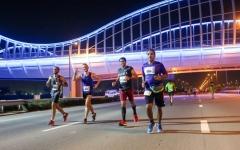 الصورة: 1500 مشارك في سباق الجري