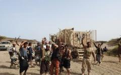 الصورة: المقاومة تحرر معسكر العريضة جنوب الحديدة