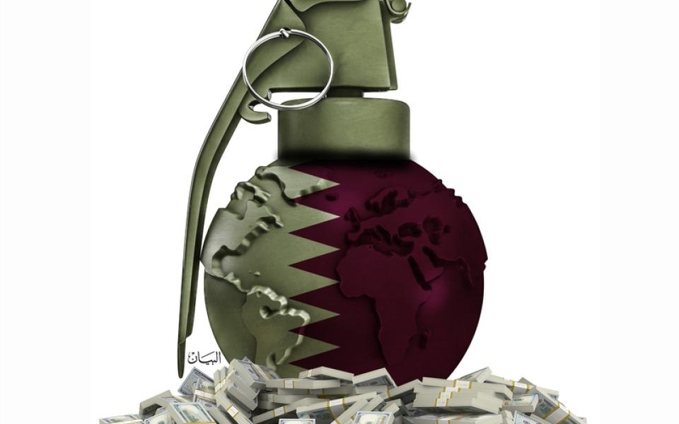 الصورة: «الحمدين» يدعم ويروّج الحوثيين بميزانيات ضخمة