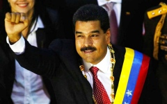 الصورة: مادورو يسعى لولاية جديدة في انتخابات فنزويلا