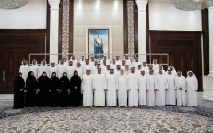 الصورة: محمد بن زايد: الإمارات منفتحة على العالم  وحريصة على بناء الإنســان المتعايـــش