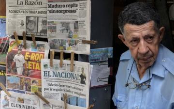 الصورة: ترامب يشدّد العقوبات على فنزويلا