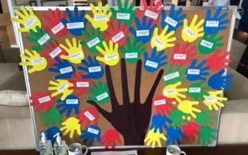 الصورة: مستشفى الزهراء في دبي يحتفل باليوم العالمي لغسل اليدين