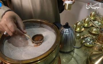 الصورة: قهوة الرمل على الطريقة المصرية