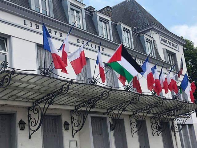 مدن فرنسية ترفع علم فلسطين على مبانيها