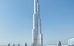 الصورة: برج خليفة ومسجد الشيخ زايد   من أجمل معالم العالم