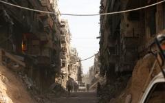 الصورة: قوات الأسد تسيطر على «اليرموك»