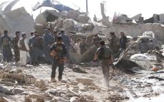 الصورة: مقتل 16 شخصاً في أفغانستان بانفجار شاحنة مفخخة