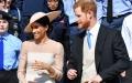 الصورة: شاهد هاري وميغان في أول ظهور لهما بعد الزفاف الملكي