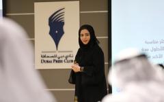 """الصورة: دبي للصحافة ينظّم جلستين تدريبيتين حول """"مهارات تصميم الأنفوجراف"""" و """"مونتاج الأفلام القصيرة"""""""