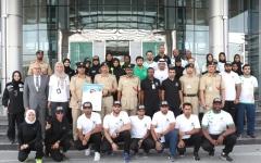 الصورة: شرطة دبي تشارك في تحدي نبض فيرجن